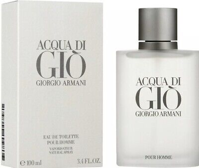 Acqua Di Gio By Giorgio Armani  3.4 oz / 100 ml For Men Eau De Toilette New& Box