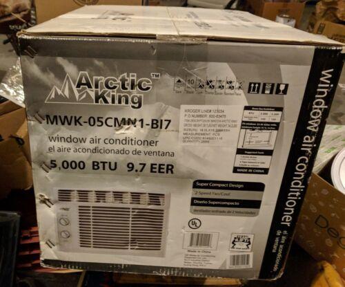 Arctic King 5000 Btu EER Window Air Conditioner ,115v,WWk_05