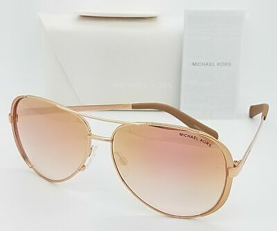 Michael Kors sunglasses MK5004 11086F 59mm Rose Gold Rose Gradient AUTHENTIC