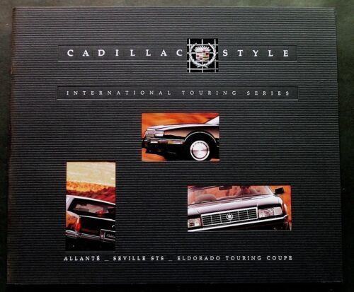 ORIGINAL 1990 CADILLAC INTERNATIONAL TOURING SERIES BROCHURE ~ 44 PAGES ~ C90
