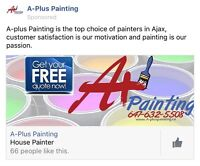 A+ Painting 647-632-5508 FREE ESTIMATE