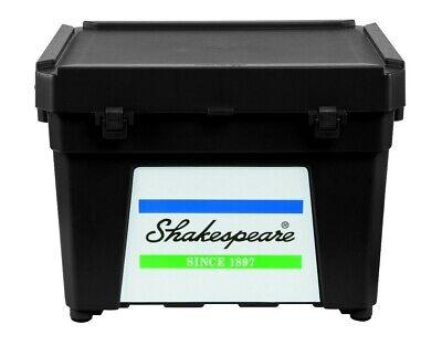 Shakespeare SEAT BOX BLACK * Fishing Tackle Box *