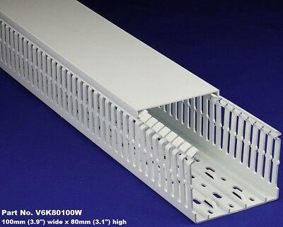 1 Set - 4x3x2m White High Density Premium Wiring Duct Cover Ulcecsa Listed
