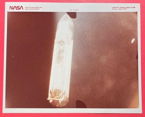 S81-30686 SPACE SHUTTLE ERA SPECIAL INTEREST NASA RED LETTER KODAK PHOTO