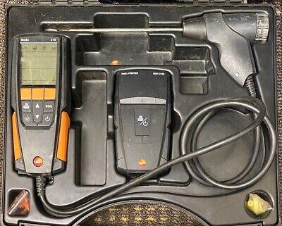 Testo 310 Combustion Analyzer Used Needs O2 Sensor Repaired