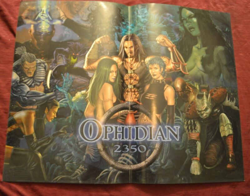 OPHIDIAN 2350 - CCG TCG Promo Poster