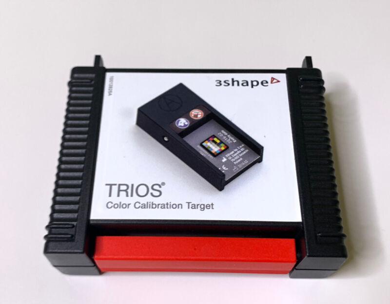 Trios 3 color calibration target