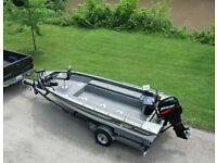 1987 Ranger Fisherman 680T Fishing Boat W/ 50HP Mercury Outboard Troll & Trailer