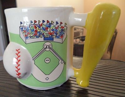 Baseball Field Bat Ball Coffee Mug New