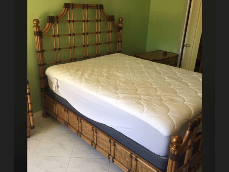 Tommy Bahama Bamboo queen sz bedroom furniture 5 pieces set