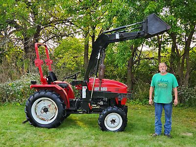 Jinma Tractor King 254 4wd 4x4 Tractor With Koyker 160 Loader Ready To Work