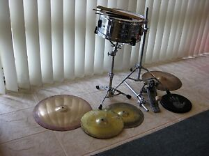 Pearl drum + cymbals + more Avalon Pittwater Area Preview