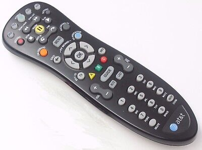 AT&T U-verse Remote Control MODEL S10-S2 VIP1200 VIP1216 VIP1225 VIP2200 VIP225