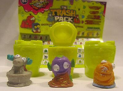 3 Pack-serie (3 Figuren * Trash Pack * Serie 5 * Müllbande * Preziosi * Neu  (h21))