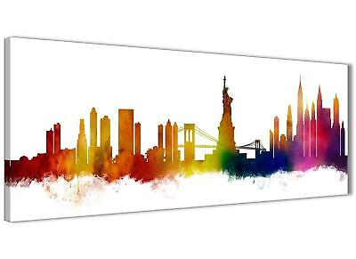 New York Skyline Canvas Wall Art Print - 17 Colours Available - 94cm wide