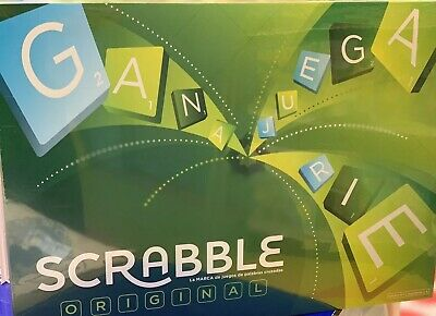 New Scrabble Original Board Game Español