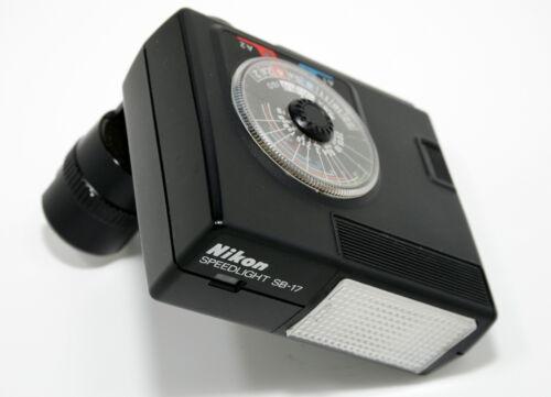 Nikon SB-17 Speedlight Flash Unit for F3 F3HP F3P HP Camera