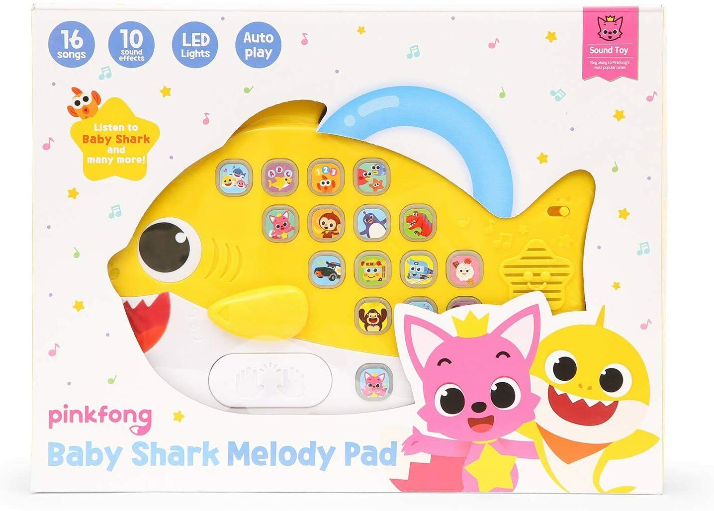 Pinkfong Pinkfong Baby Shark Melody Pad Musical Childrens To