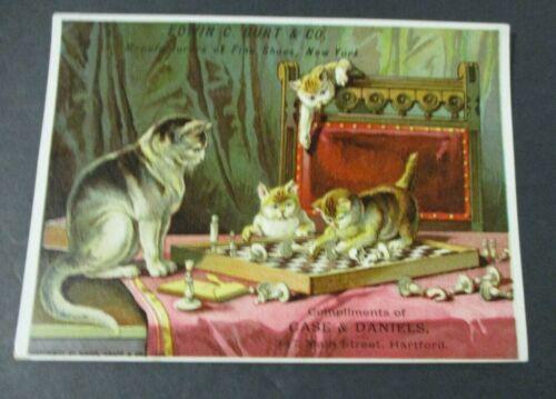 1885 Victorian Trade Card, Burt