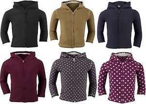 F-F-Boys-Girls-Kids-Childrens-Hoodies-Fleece-Top-Soft-Polyester-Warm-Jacket