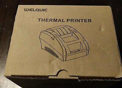 Welquic Thermal Printer - Thermal Receipt Printer Usb Interface Model Zj-5890f