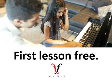 FIRST LESSON FREE - qualified piano teacher in Docklands