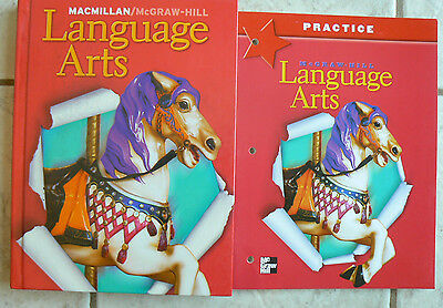 Macmillan Mcgraw Hill Language Arts Gr 2 2Nd Text   New Workbook 2005 Homeschool