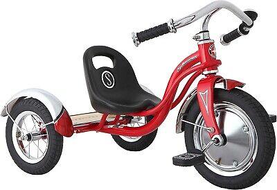 Halfords Schwinn Unisex-Youth Roadster Trike, Retro, Kids, Red, 3-5 years