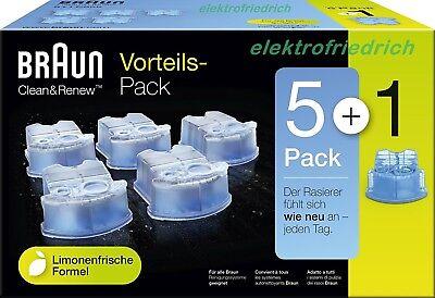BRAUN CCR 51 Reinigungskartuschen CleanRenew Vorteilspack CCR 51