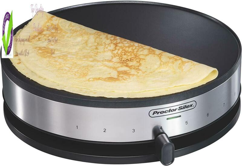 38400 Electric Crepe Maker, 13 Inch Griddle & Spatula