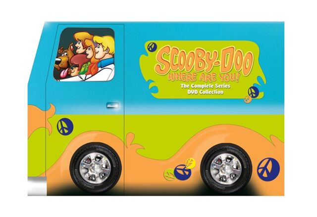SCOOBY DOO  WHERE ARE YOU 1,2 & 3 (1969-70/78) 8 DISC SET U.S Version (2012) NEW