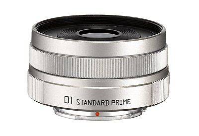 PENTAX 22067 Pentax Q 01 Standard Prime Lens SILVER Q Mount