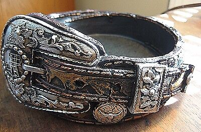 Western Coin Keys Tray Holder Resin Brown Belt Buckle Cowboygirl Ranch Country