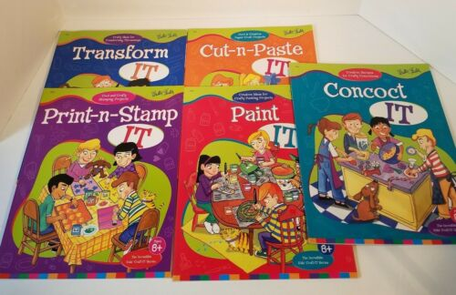 The Incredible Kids Craft It Series Books Walter Foster Lot of 5 Creative Ideas
