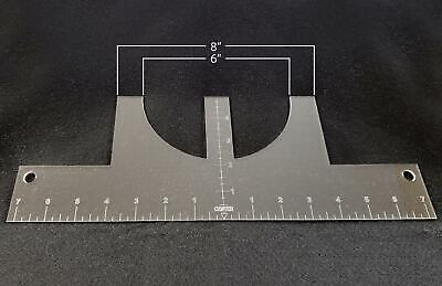 Tee Shirt Alignment Guide - T-shirt Ruler - Htv - Heat Transfer Sublimation Tool