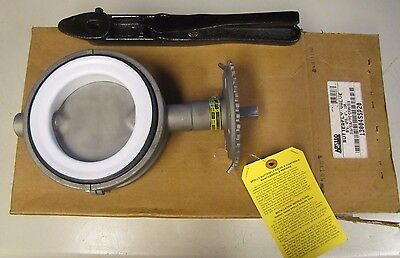 "APOLLO 13004SSP20 BFV WFR 4"" 130 316 STAINLESS S/S TFE-EPDM BUTTERFLY VALVE NIB"