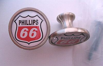Phillips 66 Gas Cabinet Knobs  Phillip 66 Gasoline Logo Cabinet Knobs  Phillips