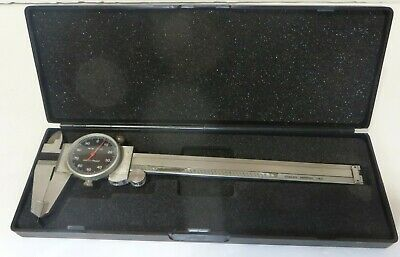 Vintage Dual Dial Caliper 6150 Mm Inch Metric W-50282