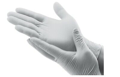 Disposable Powder Free Latex Medical Exam Gloves Size Large Box100 Pcs