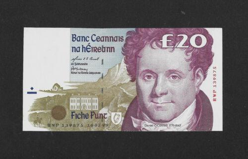 aUNC 20 pounds 1999 IRELAND