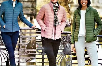 superleichte Damenjacke Sommerjacke Steppjacke Jacke Gr.S M L blau rosa oliv NEU