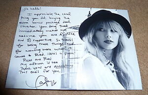 Taylor Swift Red Tour VIP Signed Written Thank You Note ...