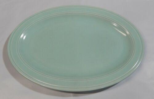 "Vintage Modern California Pistachio Oval Platter  Vernon Kilns 12 5/8 x 9"""