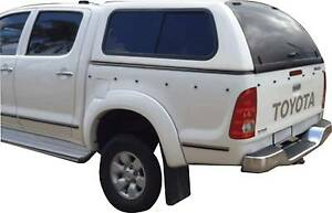 TOYOTA HILUX DUALCAB CANOPY 2005 to 2014 WHITE - BRAND NEW Carlisle Victoria Park Area Preview