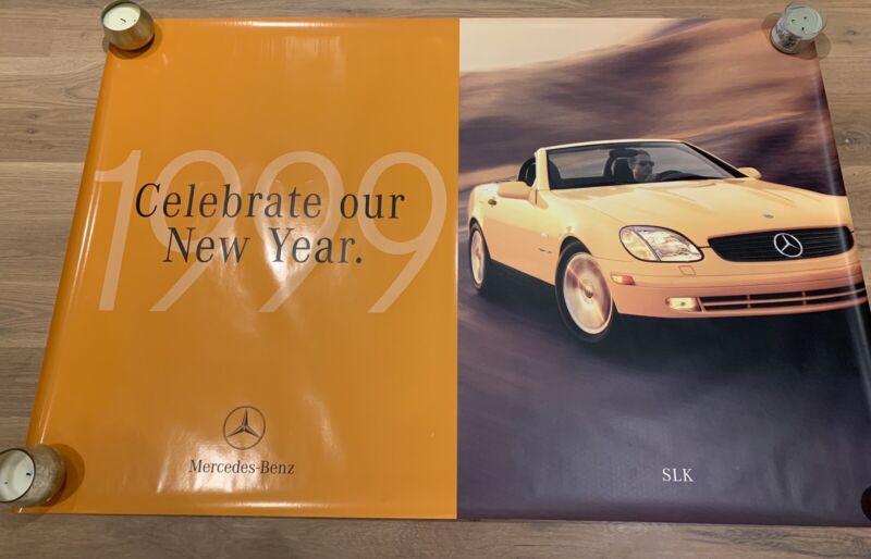 Mercedes Benz SLK Factory Showroom Dealer Poster 1999 R170