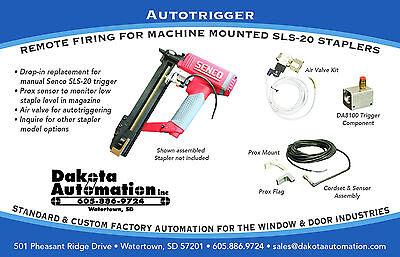 Autotrigger Components Remote Firing For Machine Mounted Sls-20 Senco Stapler