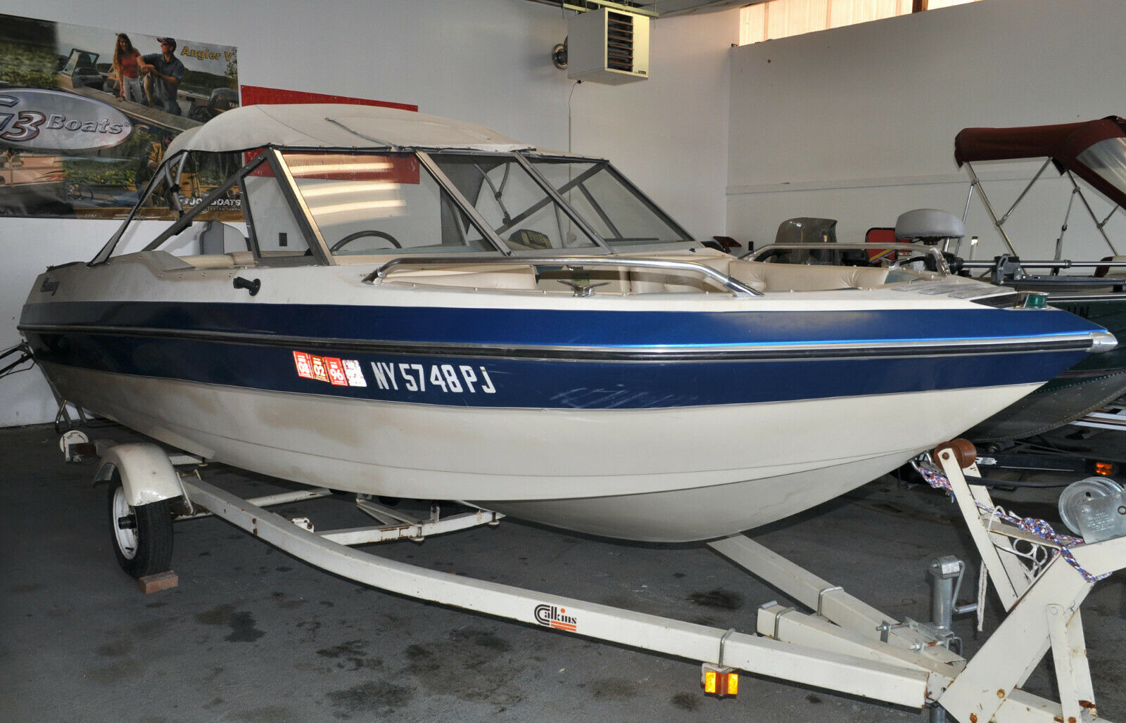 1984 Glastron Conroy 17 Ft. Open Bow W Mercruiser 3.0L 4 Cyl Engine