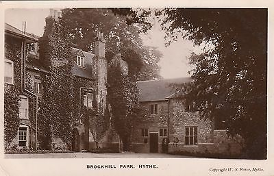 BROCKHILL PARK, COUNTRY HOUSE, HYTHE, KENT. RP, 1914.