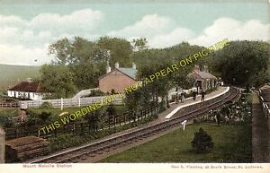Mount Melville Railway Station Photo. St. Andrews - Stravithie. Leuchars to Elie
