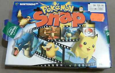 Pokemon Snap CIB N64 Nintendo 64 PAL in OVP Deutsch